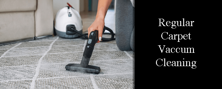 Regular Carpet Vacuum-Cleaning